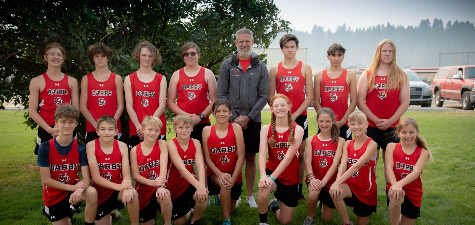Darby Schools Cross Country Team 2020-2021